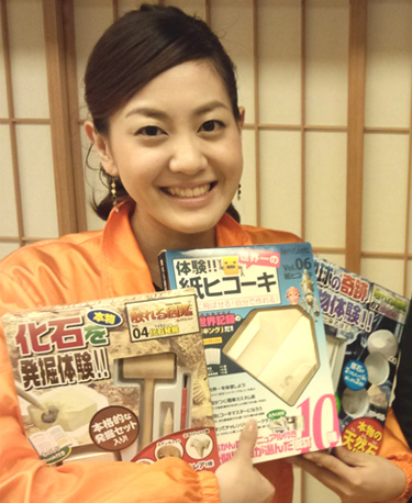 ABC朝日放送「キャスト」で塚本キャスターにも体験してもらいました!