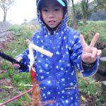 小学生の子どもでも手軽に釣れます!