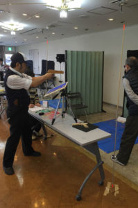 日本ゴム銃射撃協会の大会