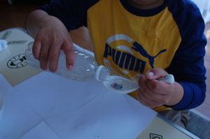 つかめる水の作り方