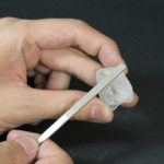 原石を磨いて宝石のできる工程を体験できます