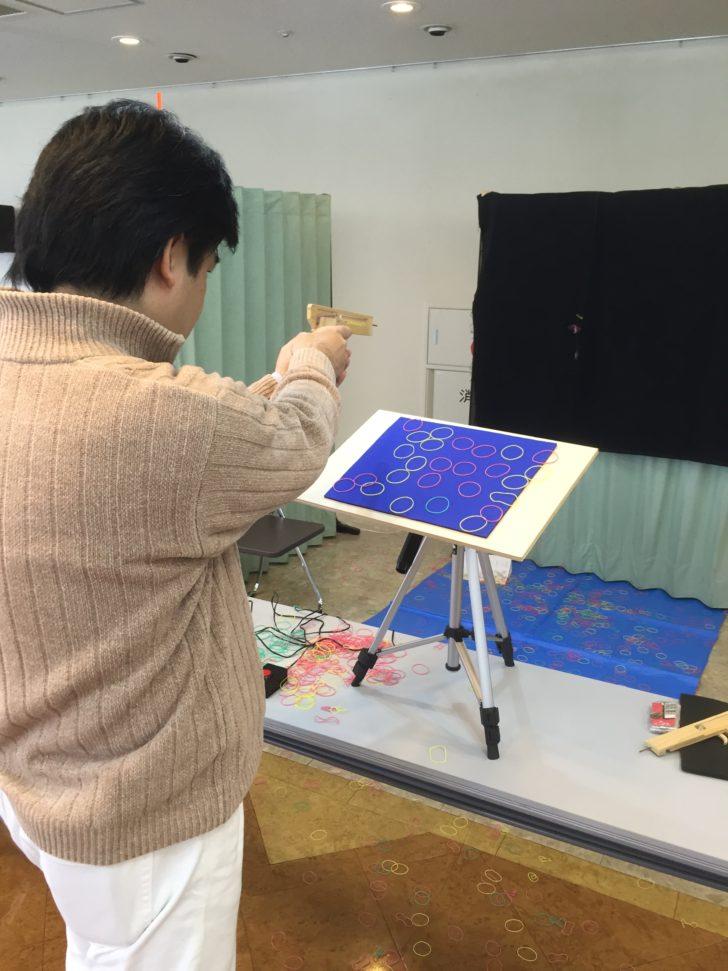 日本ゴム銃射撃協会の大会風景02