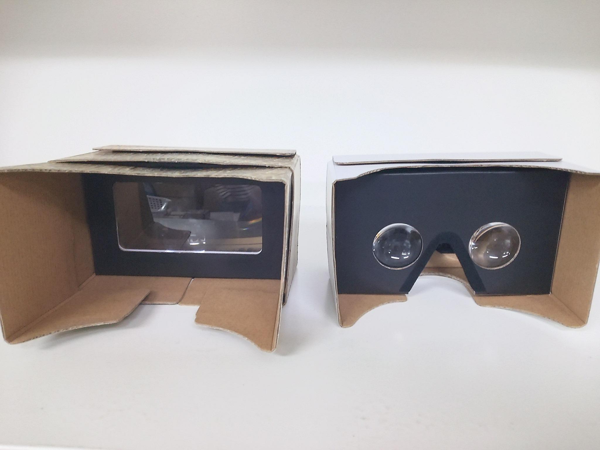 ハコトリップのVRゴーグル「一眼」と「二眼」があります